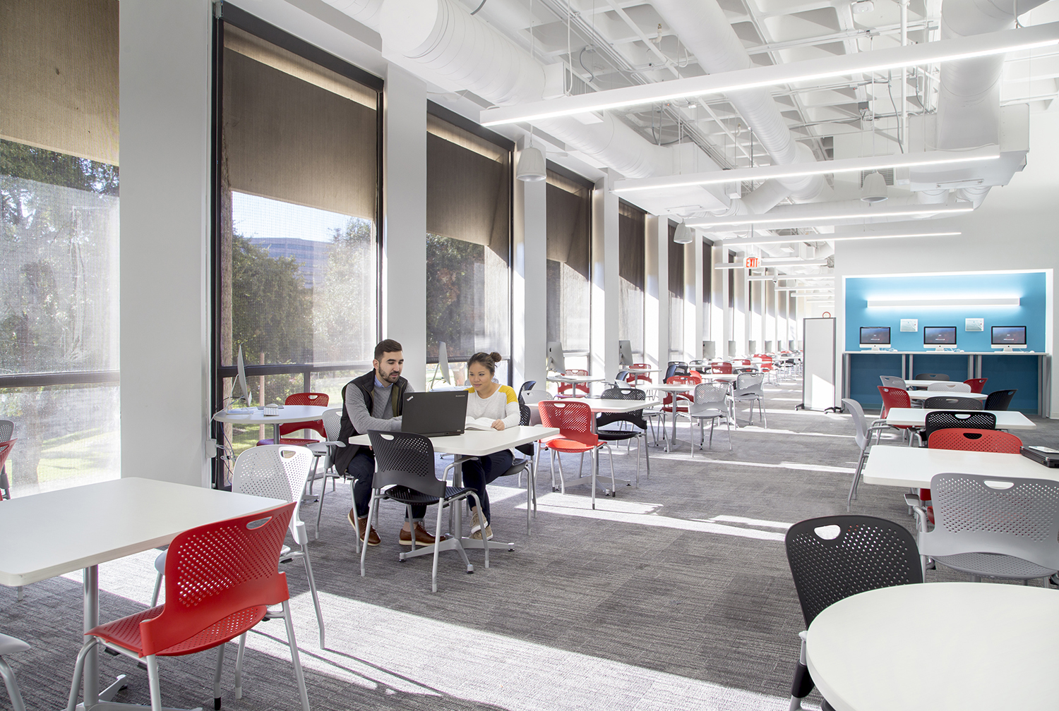 University Writing Center consultation area. Image courtesy Gensler.