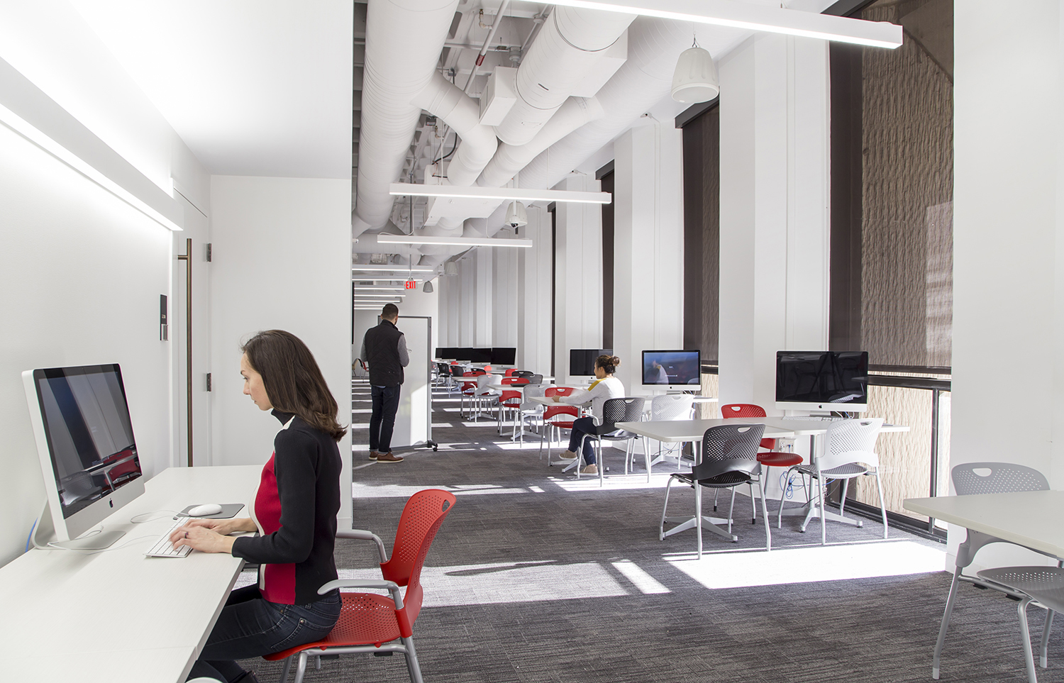 University Writing Center work space. Image courtesy Gensler.