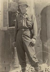 Lt. Roy J. Beery in France.