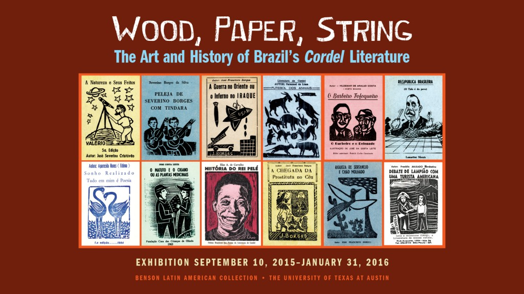Wood, Paper, String exhibit.