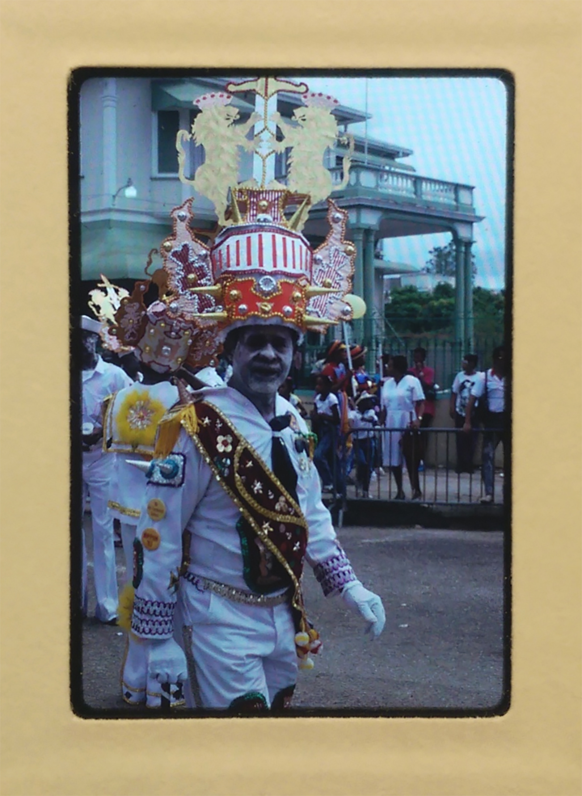Caribbean festival performer from the Judith Bettelheim collection.