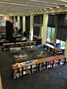 The Fine Arts Library.