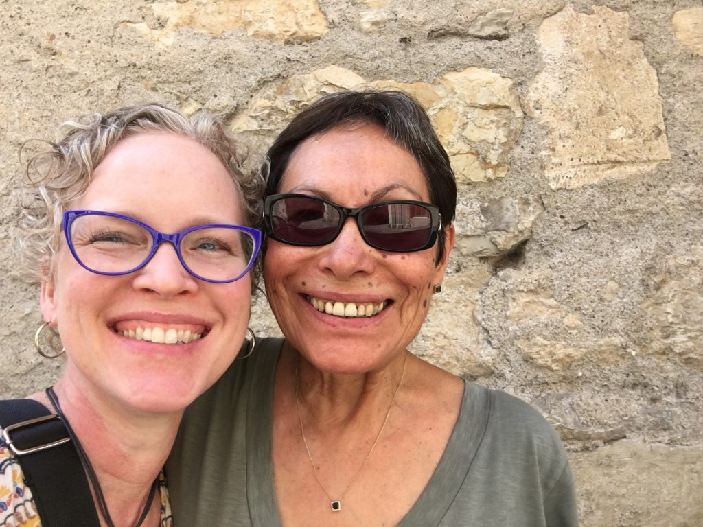 Susan Kung & Elsa Gomez-Imbert in Cajarc, France