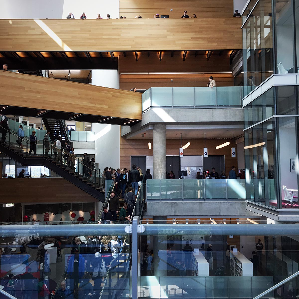 Opening of the Austin Central Library