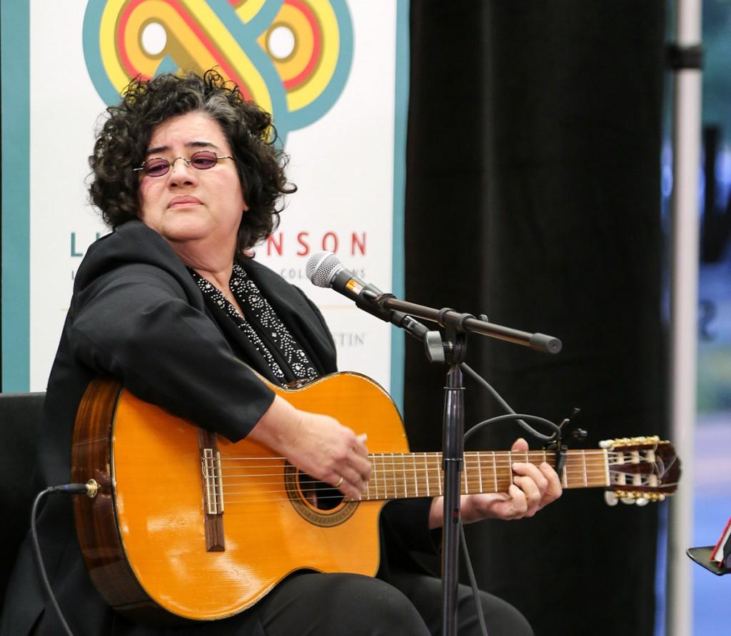 Lourdes Pérez (photo: Daniel Hublein)