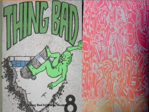 Thing Bad zine cover