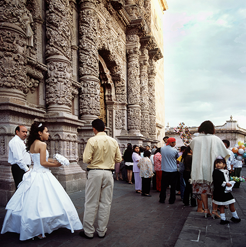 Wedding at Catedral de Zacatecas. Carolyn Brown.