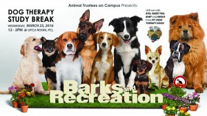 """Barks and Recreation"" by Whitney Chen."
