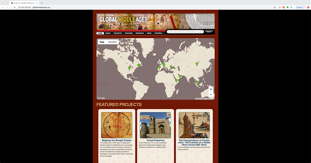 Global Middle Ages Project website.