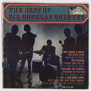 The Best of Sir Douglas Quintet (1966). From the Fine Arts Library's HMRC.