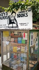 A bookstall.