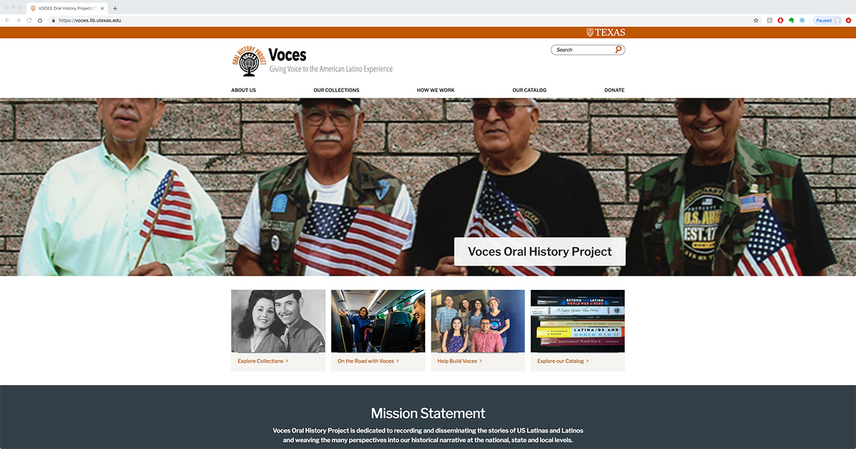 Voces website.