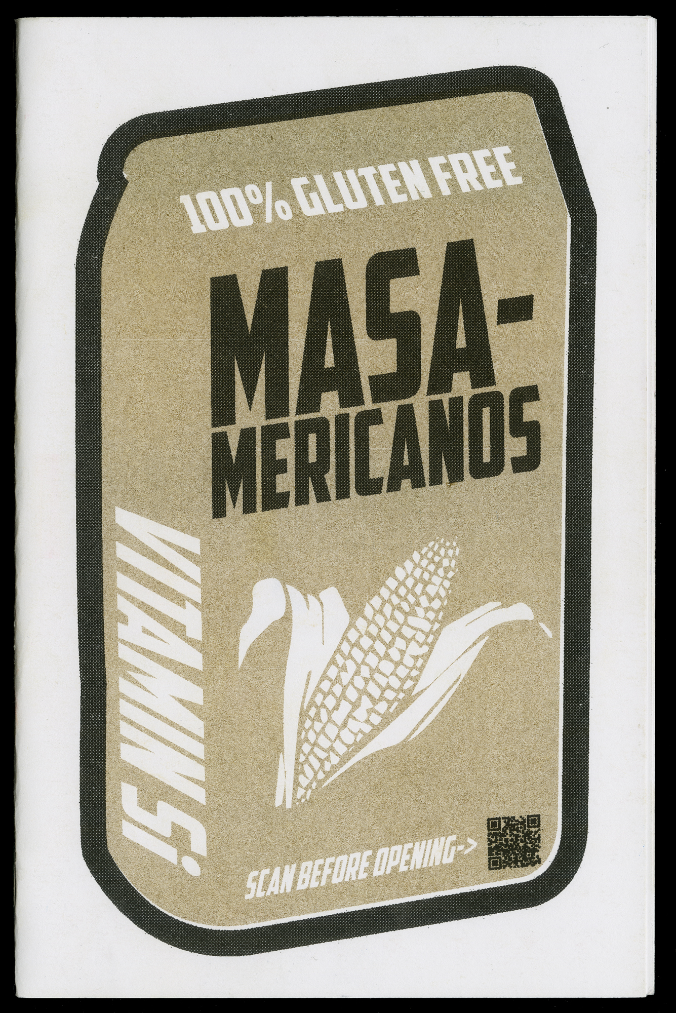"Book cover:  ""Masa-mericanos"" by Mercado Merch Art Collective"