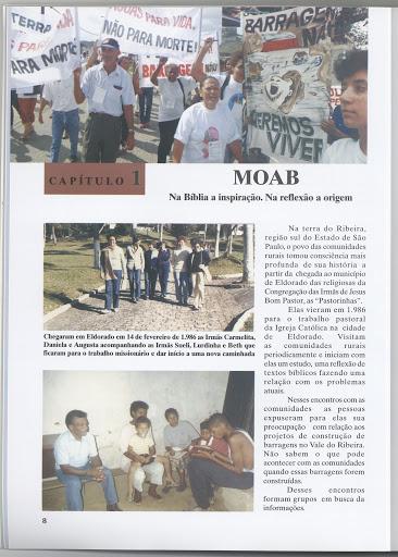 MOAB - A saga de um Povo. From the Quilombos do Vale do Ribeira SP/PR collection of the Equipe de Articulação e Assessorias às Comunidades Negras do Vale do Ribeira in Eldorado, Brazil: